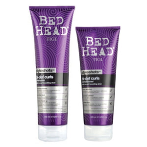 TIGI BED HEAD HI-DEF CURLS SHAMPOO & CONDITIONER SET