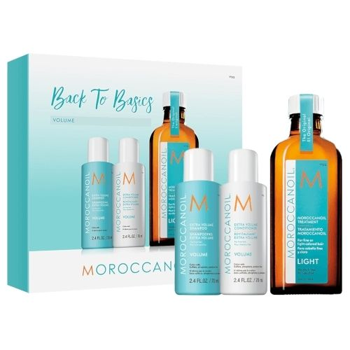 Moroccanoil Back To Basics Volume Kit-FREE Shampoo & Conditioner (70ml)