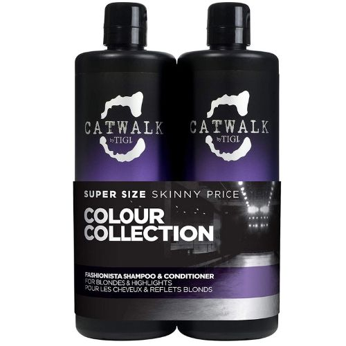 TIGI CATWALK VIOLET SHAMPOO & CONDITIONER TWEEN SET