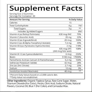 SugarBearHair Vitamins-1 Month Supply
