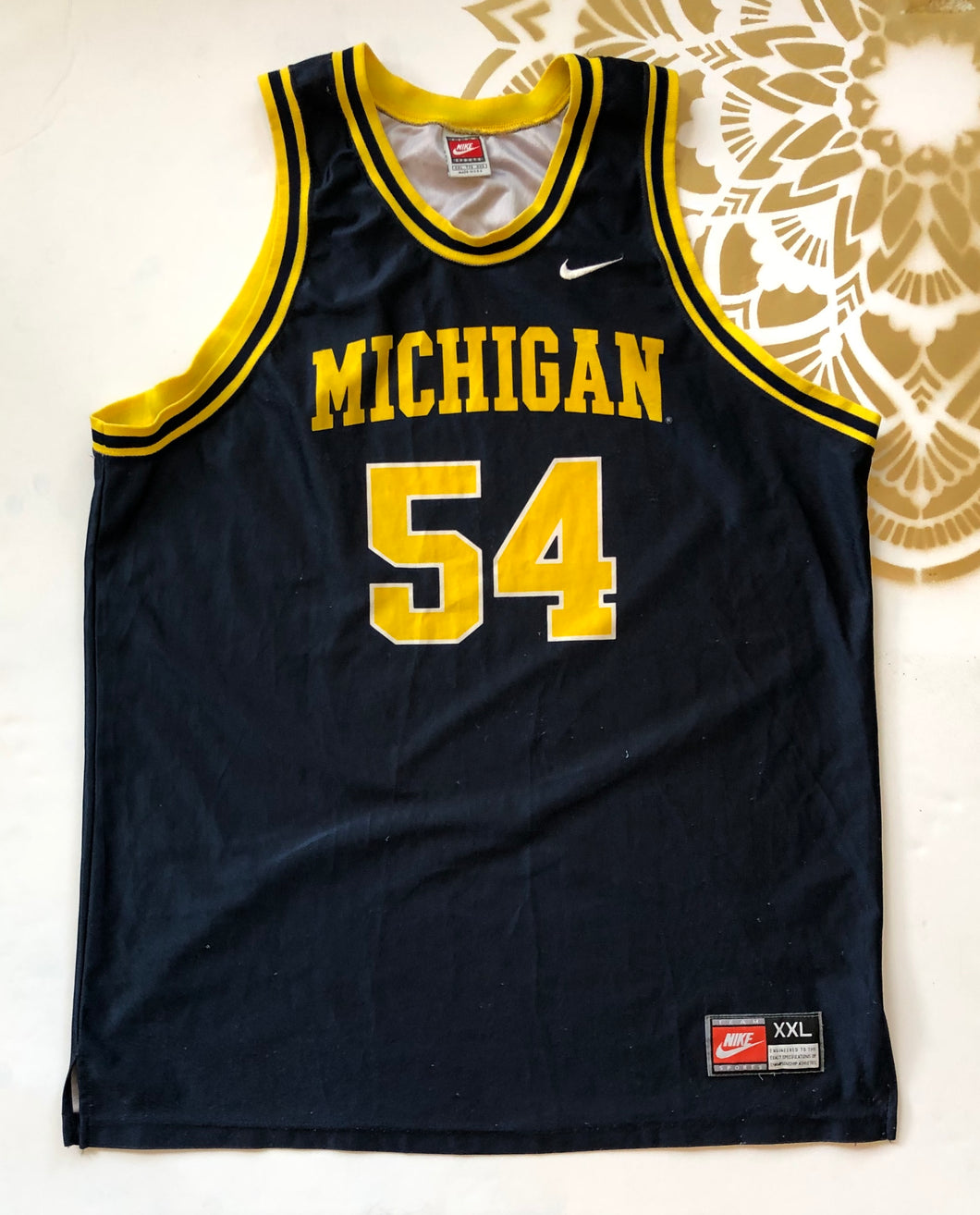 Michigan College Basketball Jersey - Ola Wyola