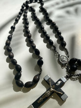Load image into Gallery viewer, Vintage French Rosary Bead Necklace - Ola Wyola