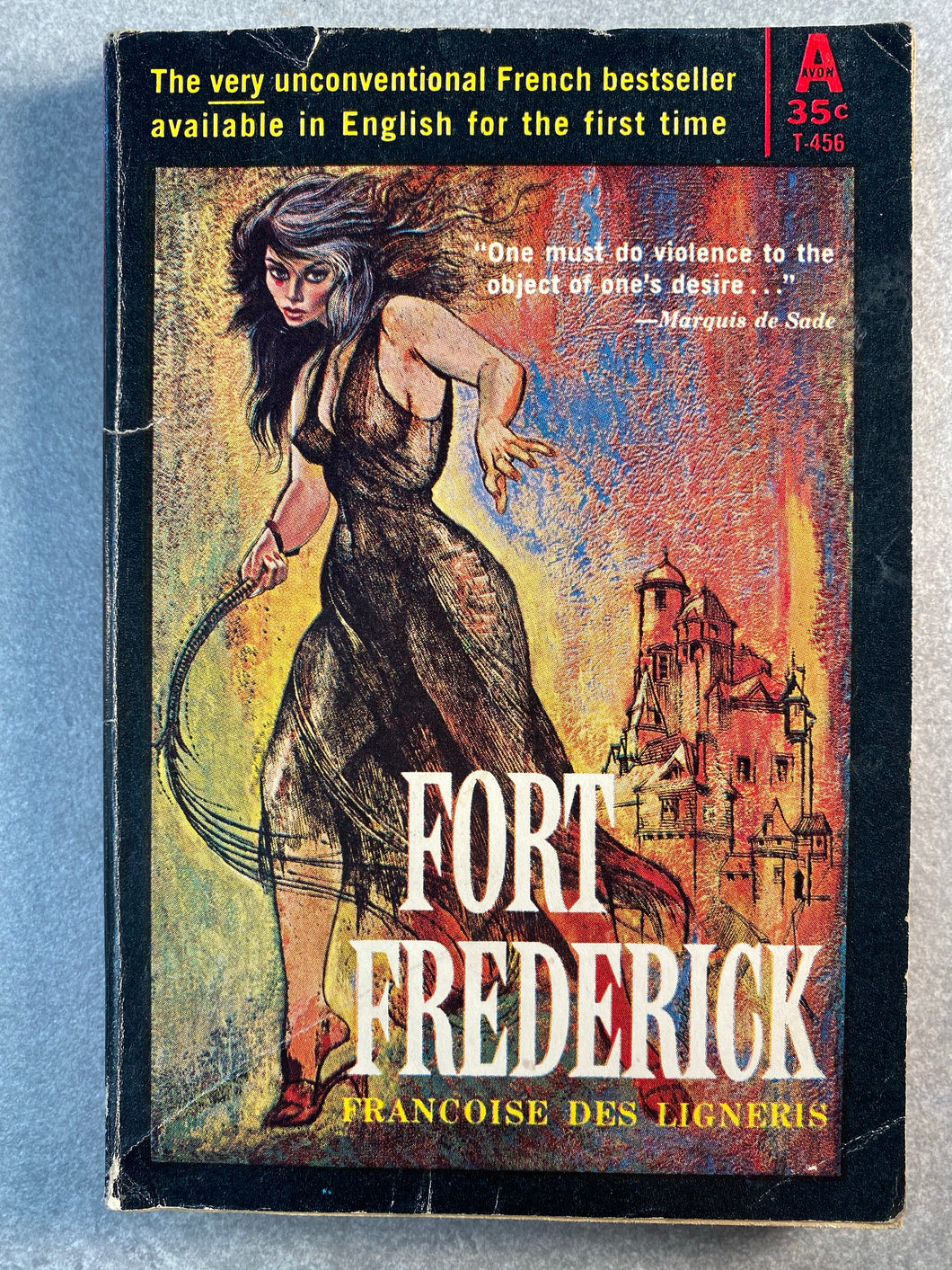 Fort Frederick  Avon Vintage Romance Novel Book