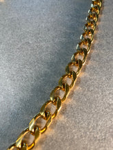 Load image into Gallery viewer, Chunky Soul Chain Necklace with Gold Chain w/ Smokey Quartz