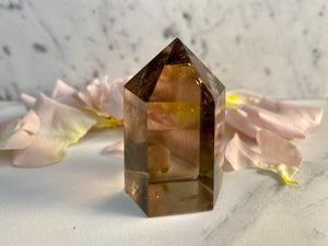 Smokey Quartz Tower Point #1