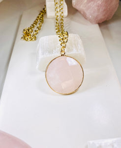 Rose Quartz Soul Chain
