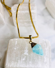 Load image into Gallery viewer, Dainty Baby Amazonite Soul Chain