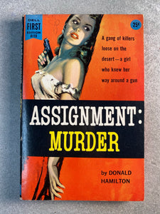Assignment Murder Vintage Romance Novel Book