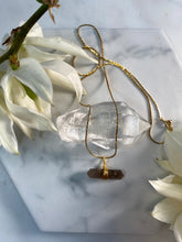 Load image into Gallery viewer, Dainty Baby Soul Chain with Double Terminated Smokey Quartz Crystal