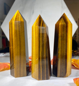 Tigers Eye Crystal #1