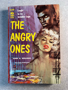 The Angry Ones Vintage Romance Novel Book
