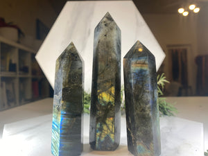 Labradorite Crystal Tower Point #3