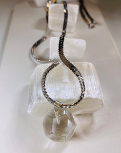 Clear Quartz Soul Chain
