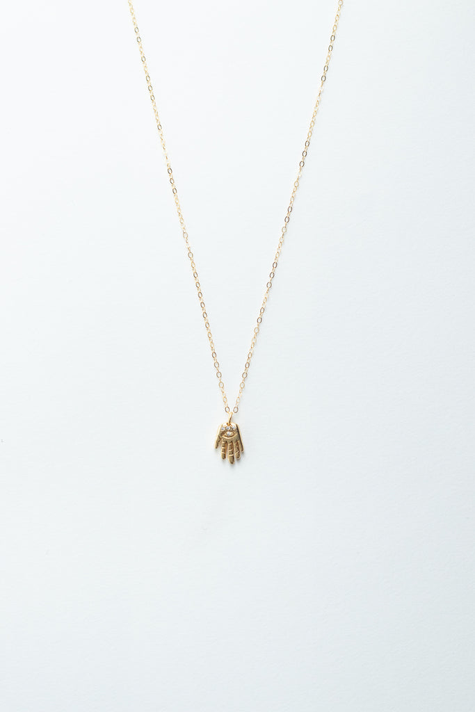 Palm Reader Necklace