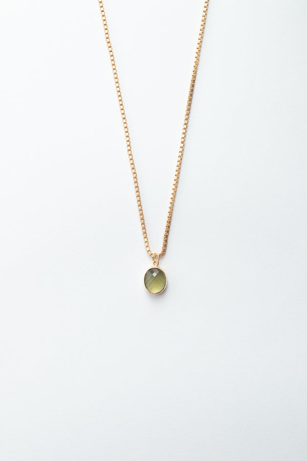 Quartz Dome Necklace