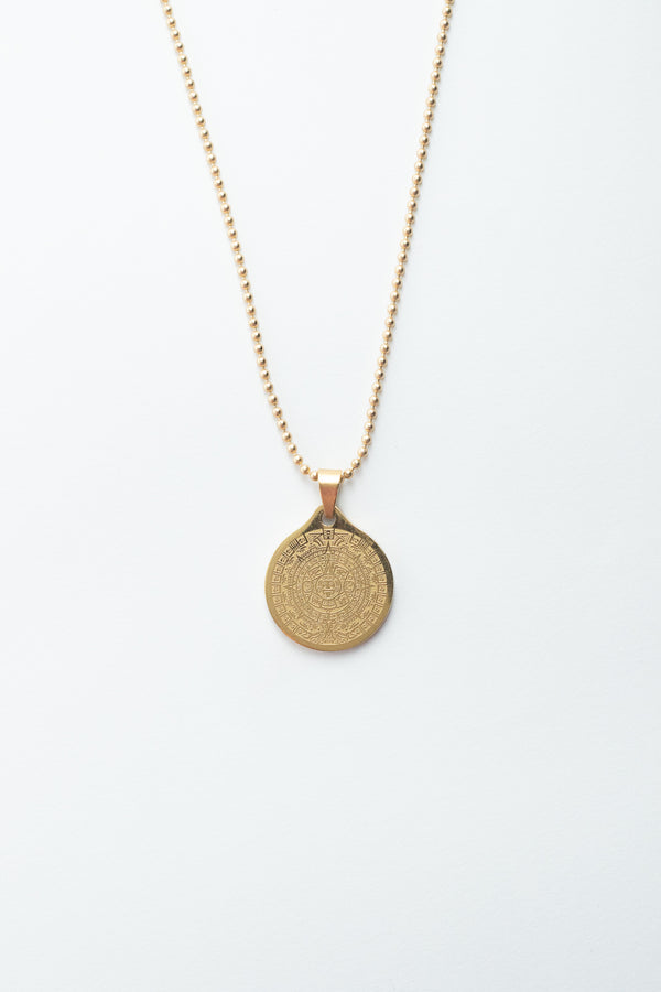 Aztec Medallion Necklace
