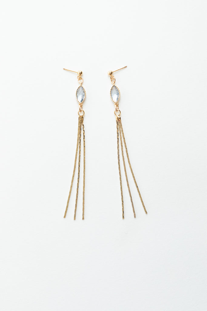 Quartz Stream Earrings