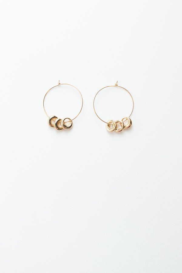 Simple Ring Earrings