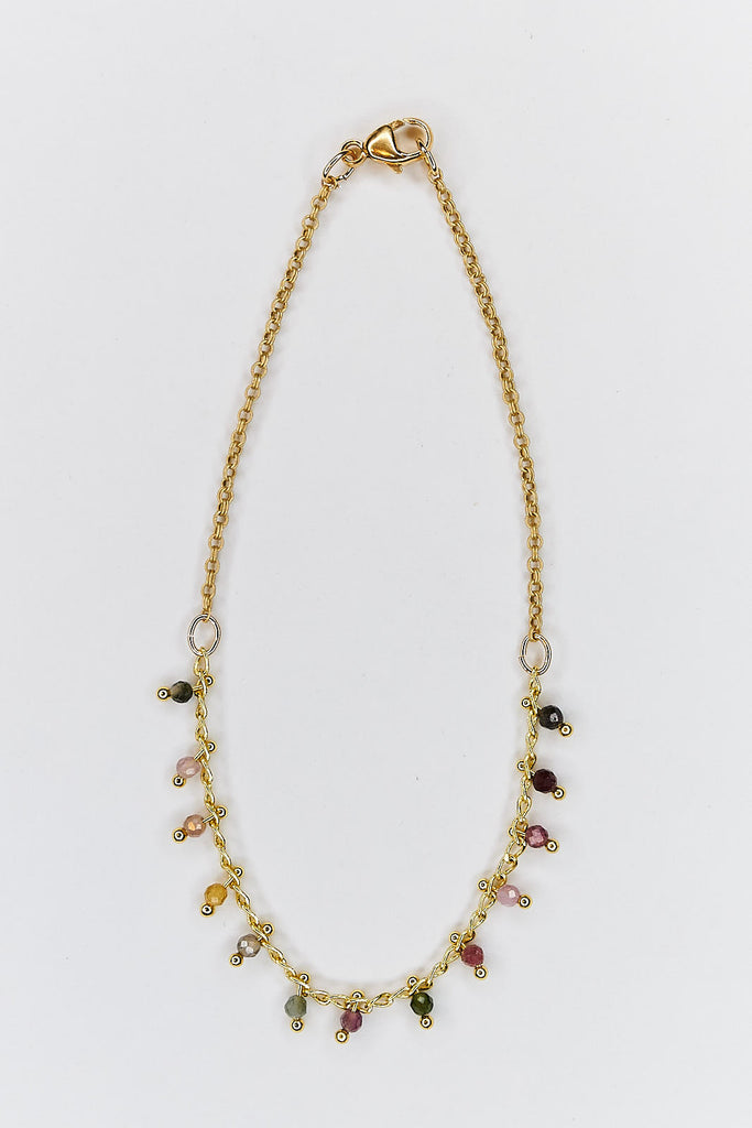 Color Tourmaline Necklace