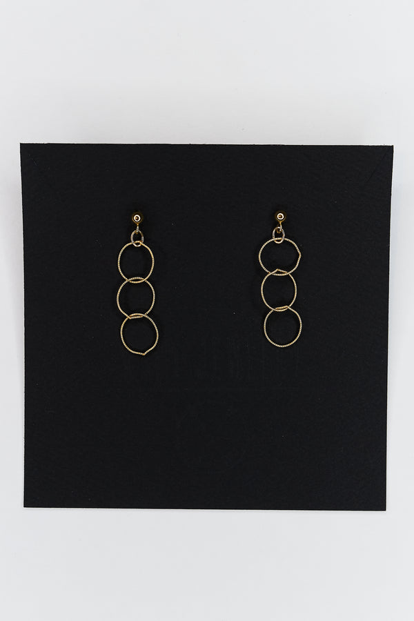 Large Link Barely There Earrings