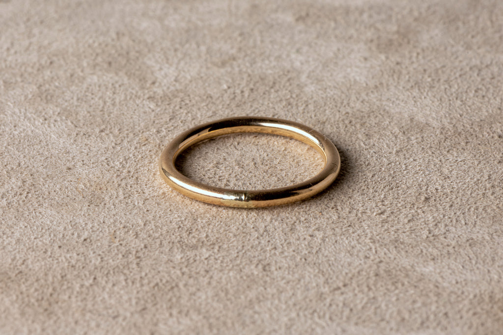 Gold Whim Donut Ring