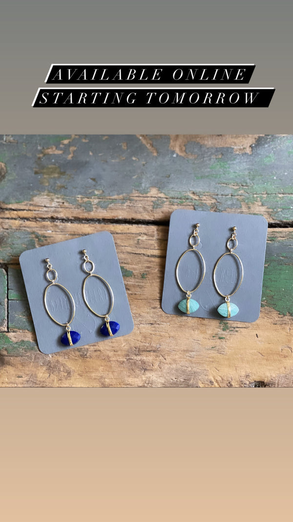 The Stone Harbor Earring