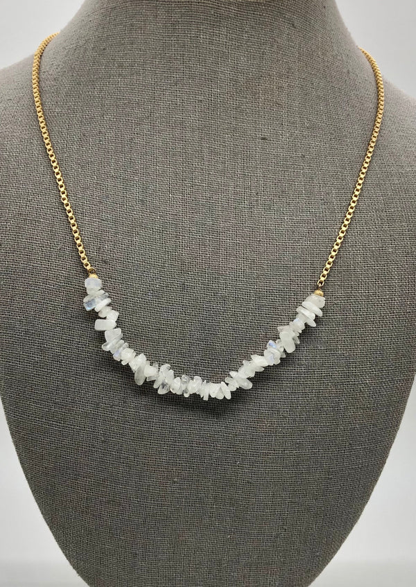 Moonstone Necklace WJ67
