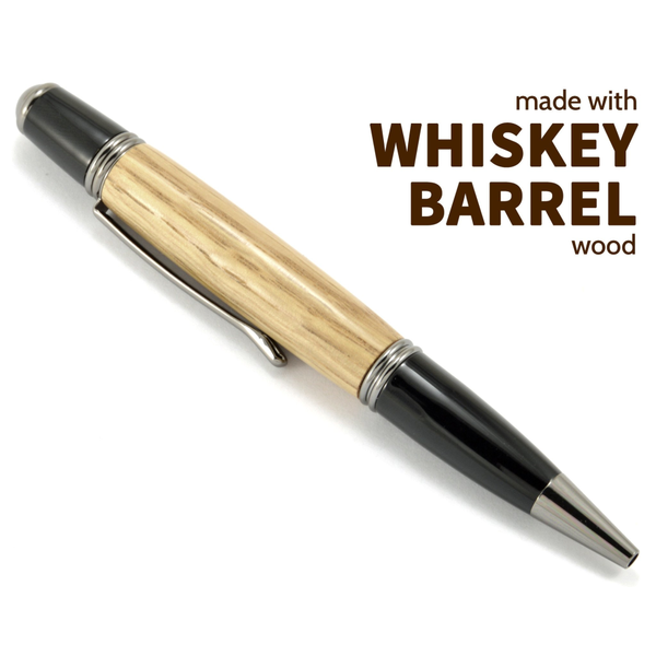 Whiskey Barrel Gatsby Wood Pen