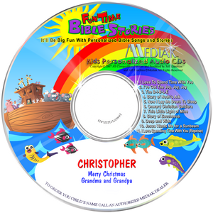 Personalized Bible Stories CD for children