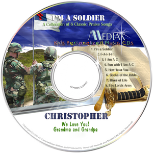 Personalized Christian Music CD for tweens