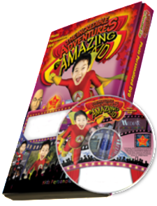 Photo Personalized Amazing Kid DVD - The Lollipop Guild