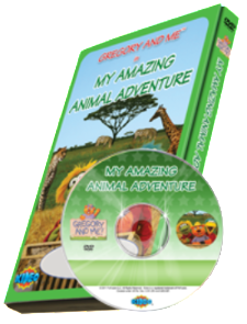 Photo Personalized Animal Adventure Cartoon