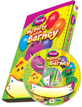 "Load image into Gallery viewer, Photo Personalized Barney™ DVD ""My Party with Barney"""