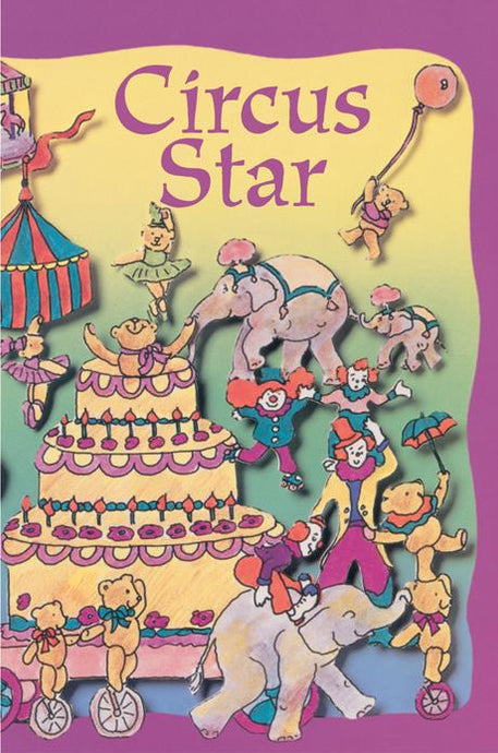 Birthday at the Circus Personalized Book - The Lollipop Guild