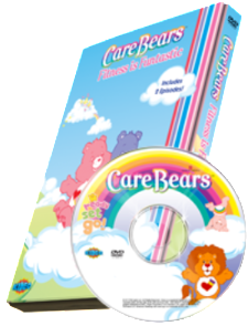 "Photo Personalized Care Bears™ ""Fitness is Funtastic!"" DVD - The Lollipop Guild"