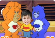 "Load image into Gallery viewer, Photo Personalized Care Bears™ ""Fitness is Funtastic!"" DVD - The Lollipop Guild"