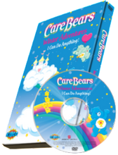 Load image into Gallery viewer, Photo Personalized Care Bears™ Winter Adventure DVD