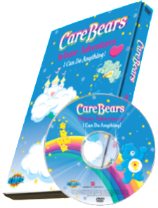 Photo Personalized Care Bears™ Winter Adventure DVD - The Lollipop Guild