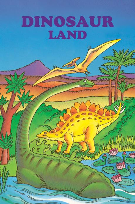 Dinosaur Land Personalized Book - The Lollipop Guild