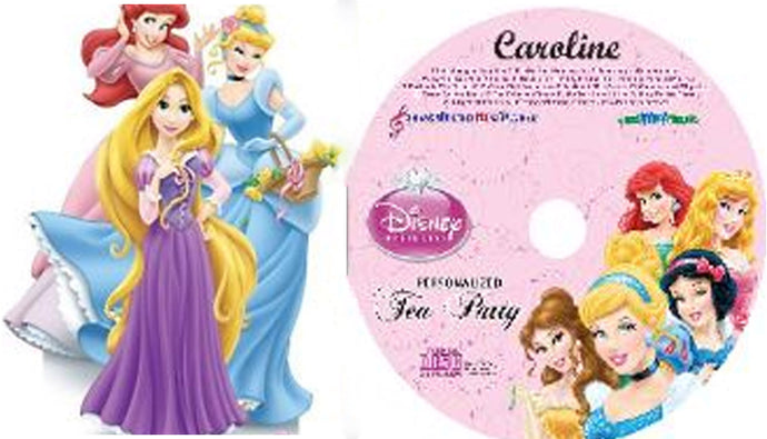 Personalized Disney Princesses Music CD and Digital Download