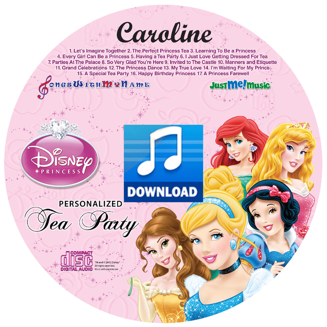 Digital Personalized Disney™ Princesses Music download