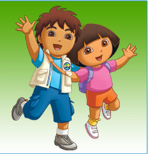 Load image into Gallery viewer, Photo Personalized Dora, Diego and Me!™ DVD