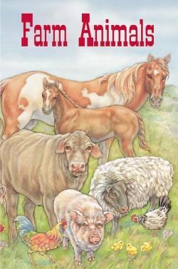 Personalized Farm Animal Book for children