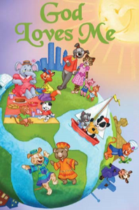 God Loves Me Personalized Book - The Lollipop Guild