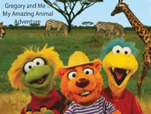 Photo Personalized Gregory and Me!™ Animal Adventure DVD