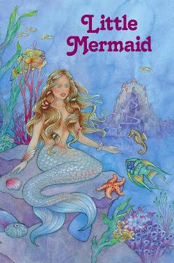 Personalized Little Mermaid Book for children