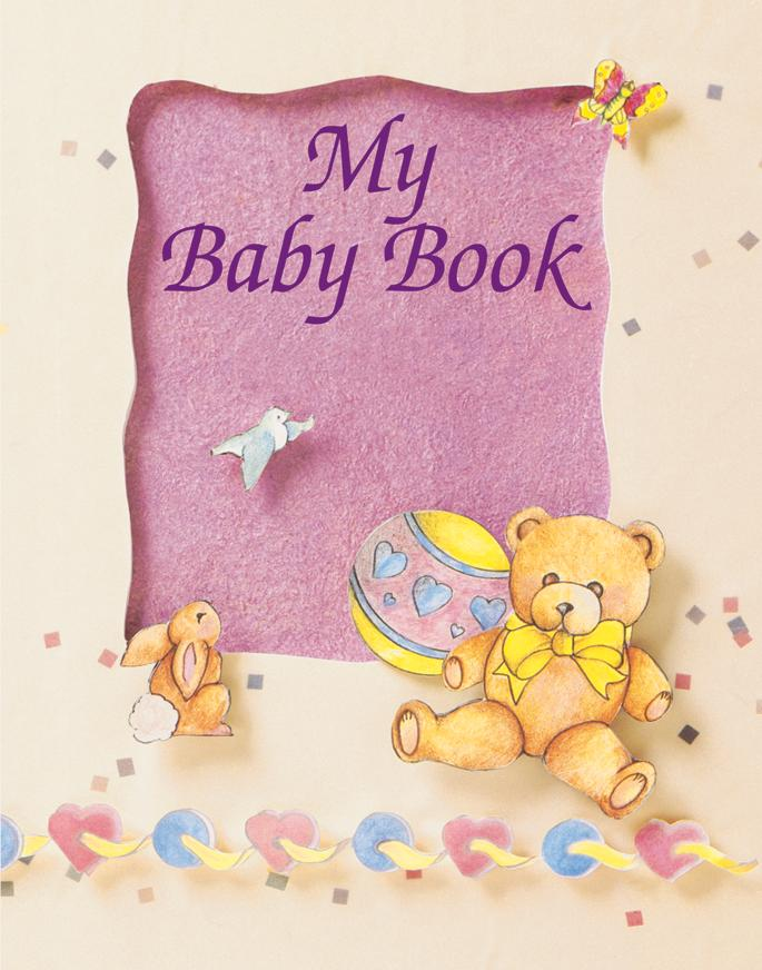 My Baby Book Keepsake Personalized Book - The Lollipop Guild