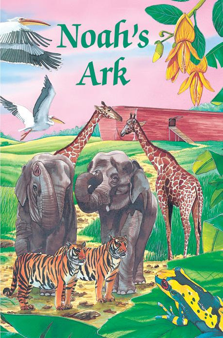 Personalized Christian Noah's Ark book for children