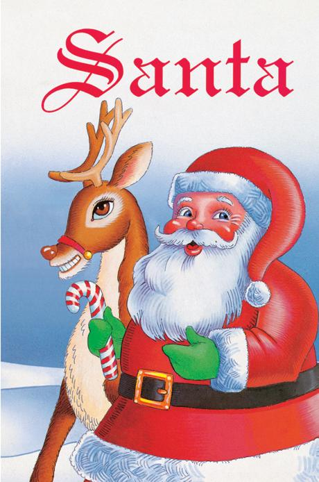 Christmas Personalized books for kids Santa