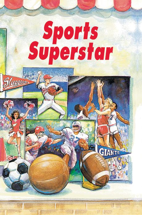 Sports Superstar Personalized Book - The Lollipop Guild